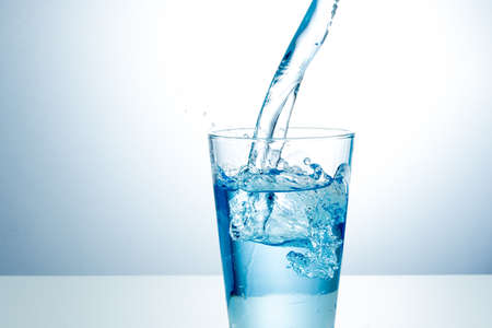 Glas zoet water Stockfoto