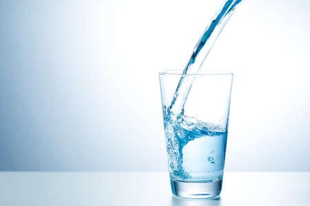 Glass of fresh water Foto de archivo