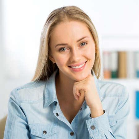 Successful business woman portrait Stock Photo