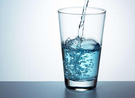 Glass of fresh water 版權商用圖片