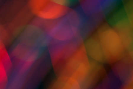 Abstract picture of bright colored dynamic lights on a dark background Stok Fotoğraf