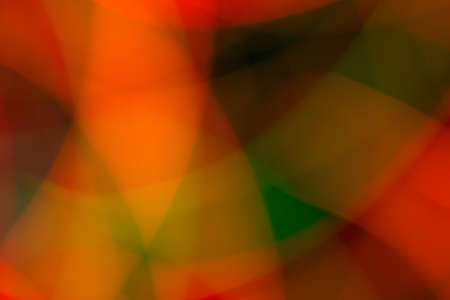 Abstract picture of bright colored lights on a dark background