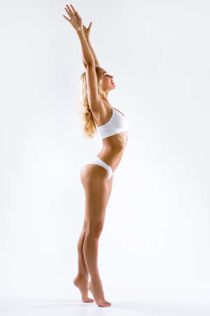 Fitness woman with a beautiful body Archivio Fotografico