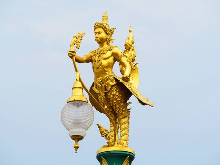 Thai temple lamp