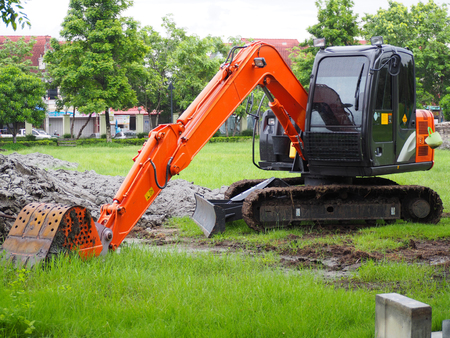 Excavators for construction and agricultural excavator