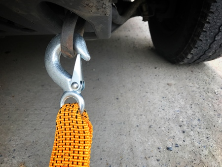 Car Rope Emergency equipment is used when the vehicle is broken or can not move. Used for towing