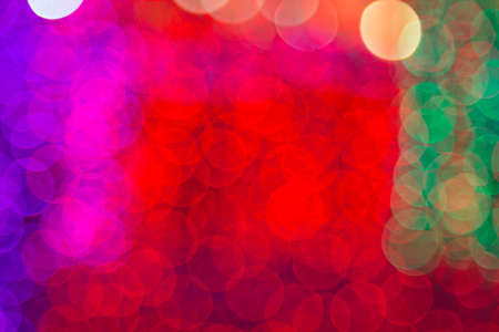 abstract defocused of LED light,abstract glitter light defocused and blurred bokeh circles for New Year,Christmas background