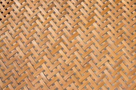 interlace: Wall made from interlace bamboo