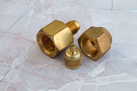 fittings: Brass fittings