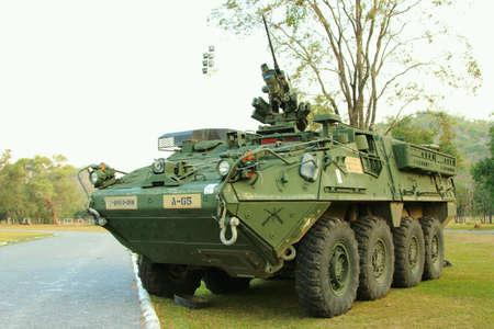 troop: Armored troop carrier Stock Photo
