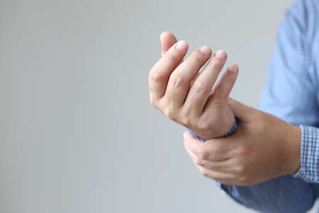 Image captured on the wrist Due to pain
