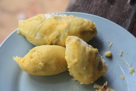 Durian thai fruit Stock Photo