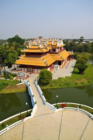 Bang Pa In Palace-Ayutthaya,Thailand photo