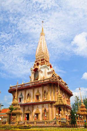 chalong: Wat chalong,Phuket,Thailand