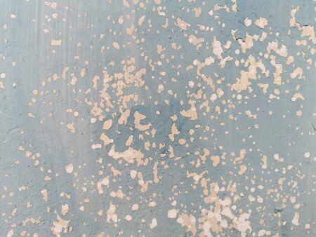 Rain water leaks on the wall causing damage. Peeling paint on wall seamless texture for background and wallpaper