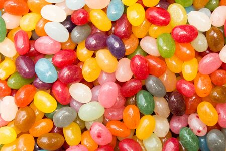 Colorful candies abstract background. Sweets, dessert, sweets in the form of pebbles