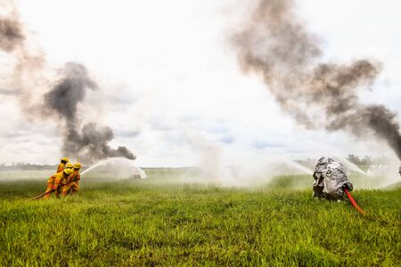 hazardous material team: fire hydrant
