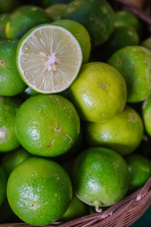 Green lemons are good to eat.