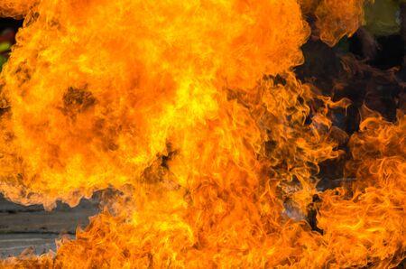 Blaze Feuerflamme Hintergrund und strukturiert