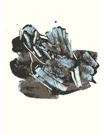 strokes: Grunge strokes Illustration