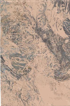 monotype: abstract background with unique paper texture Illustration