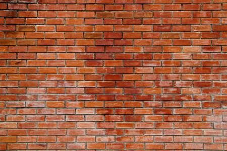 brick wall background: Red bricks wall background