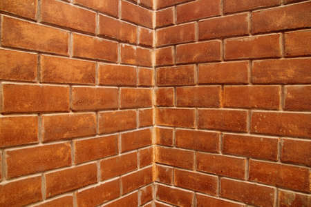 revetment: Red bricks wall background