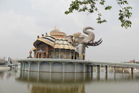 statue éléphant, Thaïlande