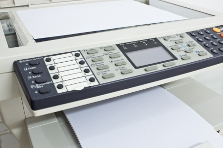 fax: photocopy machine Stock Photo