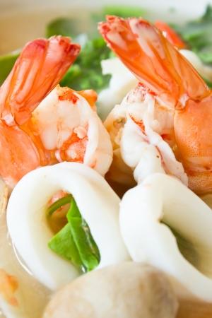 tomyum koong spicy food of thailand Stock Photo - 12077796