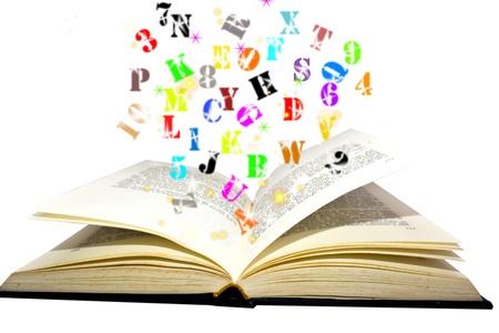magic  book Stock Photo - 12183385