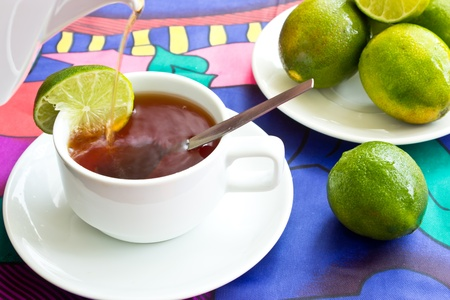 Lemon tea Stock Photo - 12701386