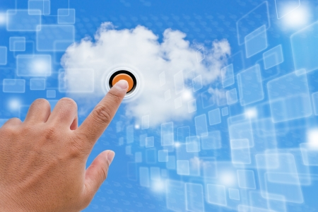 Cloud Computing Banque d'images