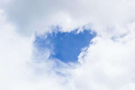 Hole Of Blue Cloud