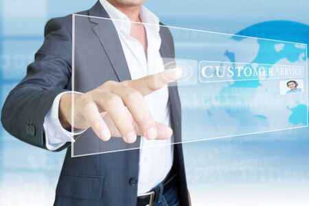 computer support: Customer Service Stock Photo