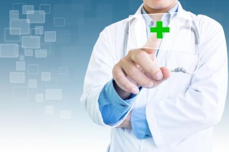 Contexte Concept médical Banque d'images