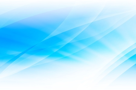 abstrato: Blue Light Ondas Abstract Background