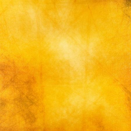 yellow  art: Grunge fondo amarillo, mezcla de medios Foto de archivo