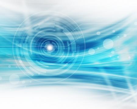 Futuristic Technology Background Standard-Bild