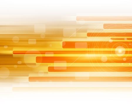 Orange  Abstract Art Background