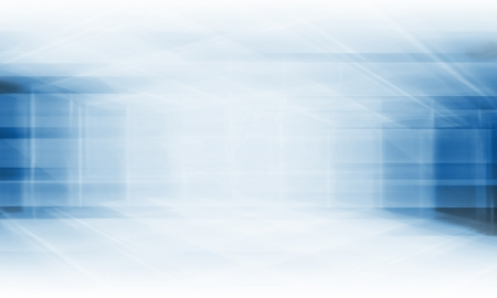 perspective grid: Blue Technology Background  Stock Photo
