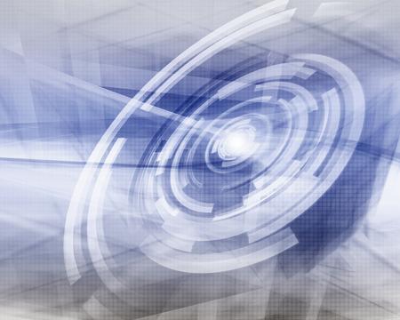 Contexte de technologie futuriste Banque d'images