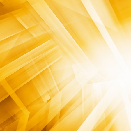 Yellow Futuristic Background Stock Photo