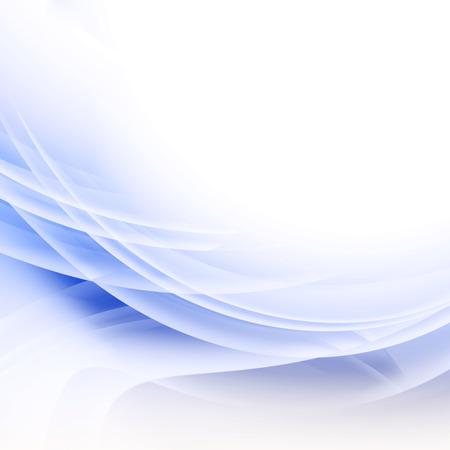 Blue Waves Background  photo