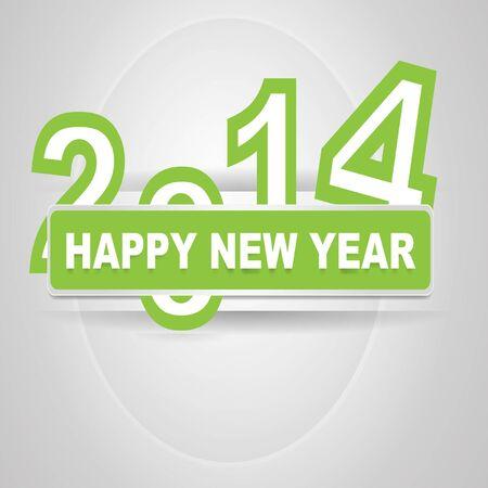 Happy New Year Illusztráció