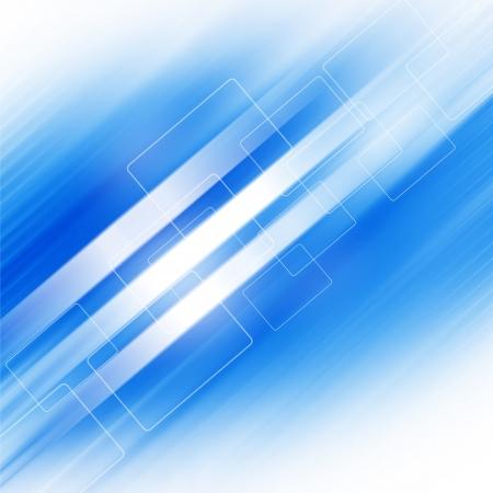 Blue Futuristic Background