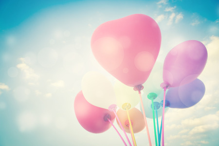 Ballons de fond pour des Valentines ou Vacances saisonniers