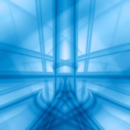 flux: Blue Abstract Background