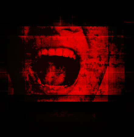 Horreur fond pour les films du projet d'affiche