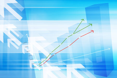 Stock Market And Financial Background Concept  photo